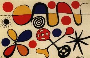 """""""Les Passoires"""" the most expensive Calder recorded at auction sold in 2007 for the equivalent of $77,810 without premium. Six years later in 2013 it sold for $5,000 less -- premium included."""