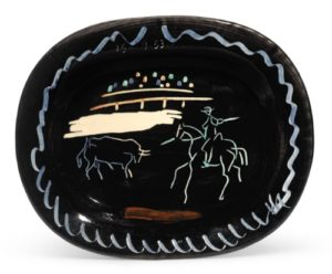 Edition Picasso Ceramic AR 198 - sold Sotheby's London 4-10-2107 for $13,194